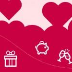¿Cuánto quieres gastar este San Valentín? (Infografía)